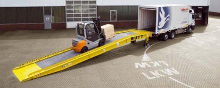 Rampe mobili cumiana carrelli for Rampe di carico per container